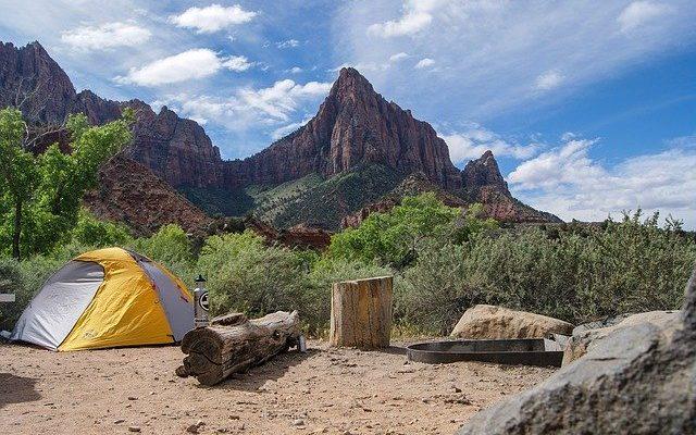 Mülleimer Camping
